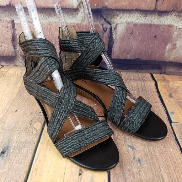 fb32f06e378b Lucky Brand Shoes - LUCKY BRAND Netta Black Jute Gladiator Sandals